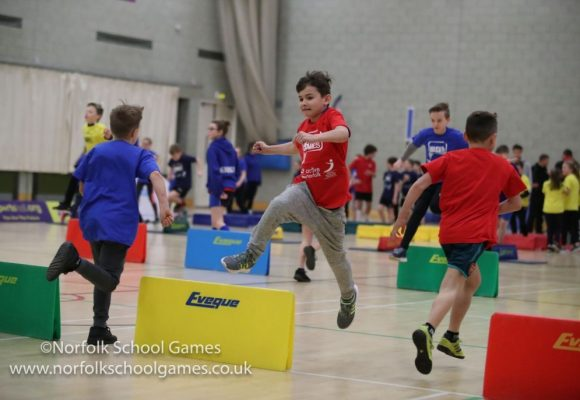 School Games Day 3 – Sportshall Athletics 'Jumps' into Focus