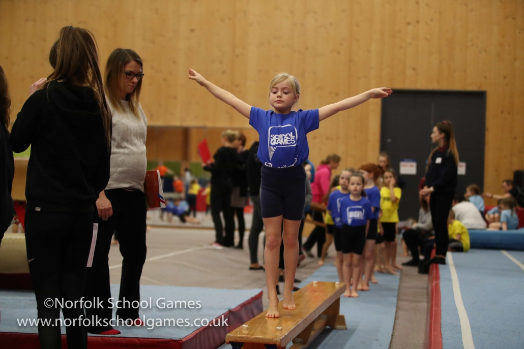 Keysteps Gymnastics – Day 3 of the Norfolk Winter School Games 2019